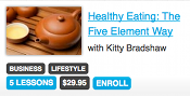 Enroll in Healthy Eating: The Five Element Way