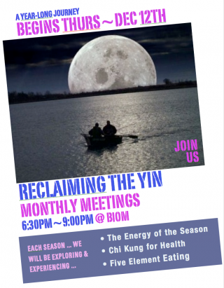 Reclaiming The Yin
